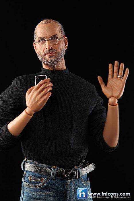 Super Realistic Steve Jobs Action Figure