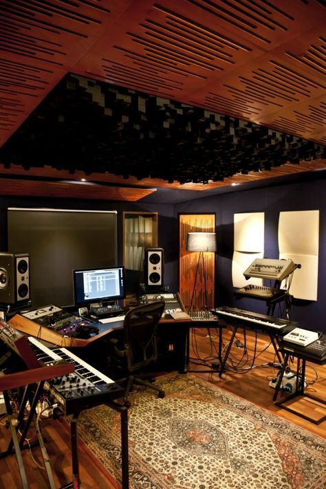 151 Home Recording Studio Setup Ideas Muziek Studio