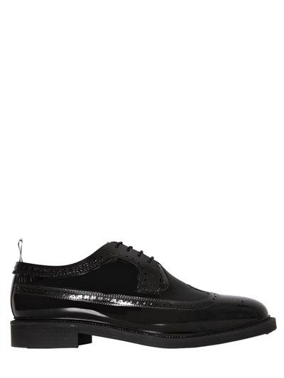 Thom Browne Leather lace up shoes WIXvYA