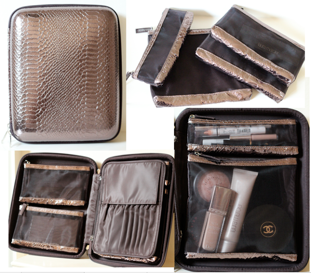 Laura Mercier Custom Artist Portfolio Perfect For Makeup Ders Organization Enthusiasts Love That The Bags Are Removable