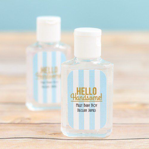 Personalized Baby Shower Hand Sanitizer Best Baby Shower Favors