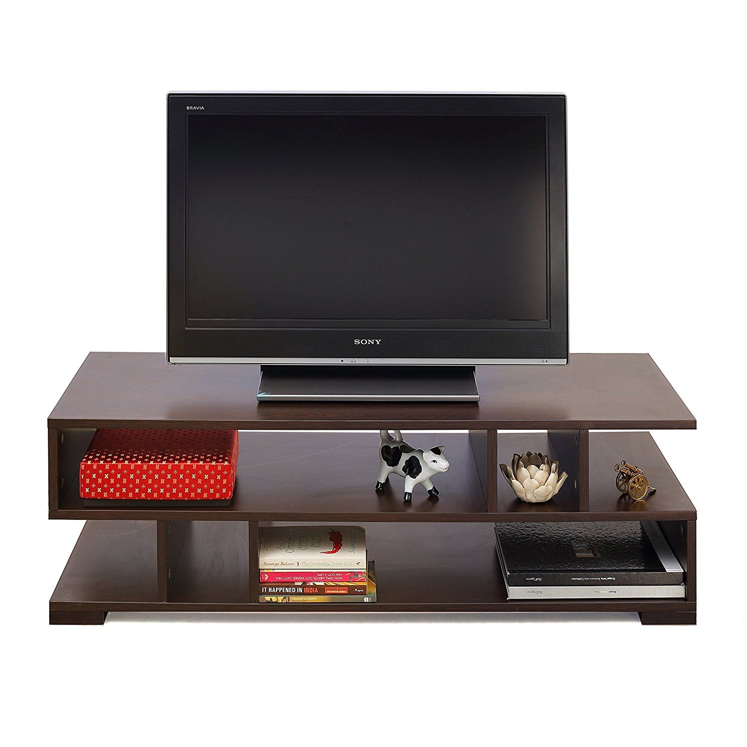 Forzza daniel tv unit large matt finish wenge furniture