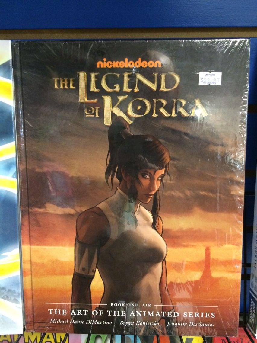Legend of korra art book book art legend of korra art