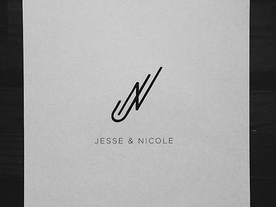 Jn Monogram By Daniel Patrick Simmons Typography Logo Monogram Branding Design