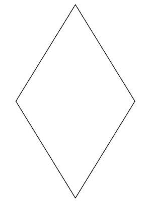 Diamond Shape Coloring Pages Printable Patterns Diamond Printable