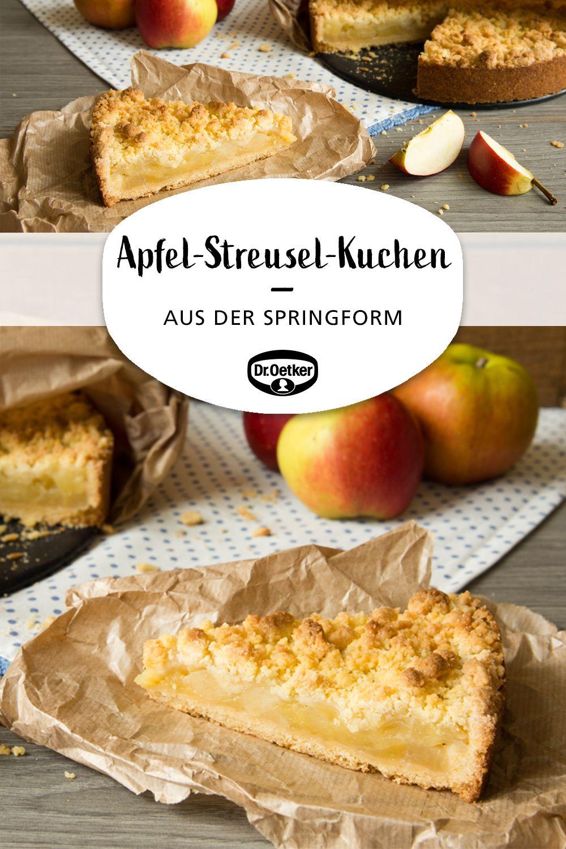 Apfel-Streusel-Kuchen aus der Springform #vanillayogurt