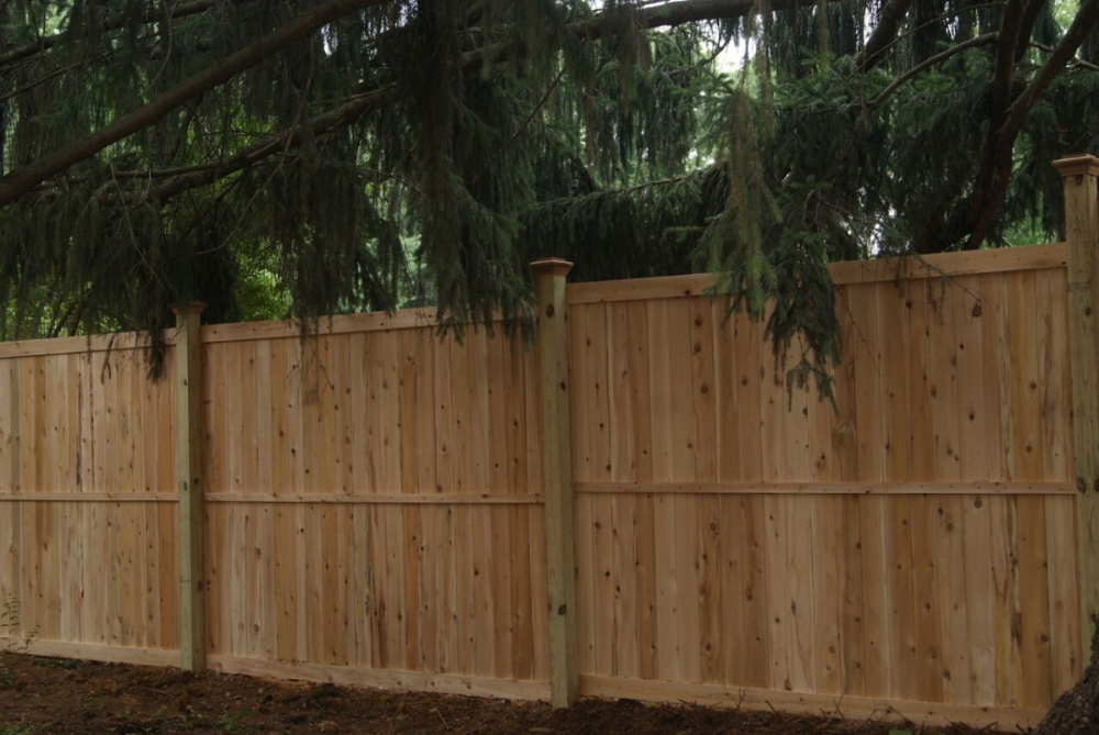 6 High Privacy Panel 1x5 Tongue Groove Boards Wood Fences Privacy Fence Landscaping Fence Landscaping Wood Fence