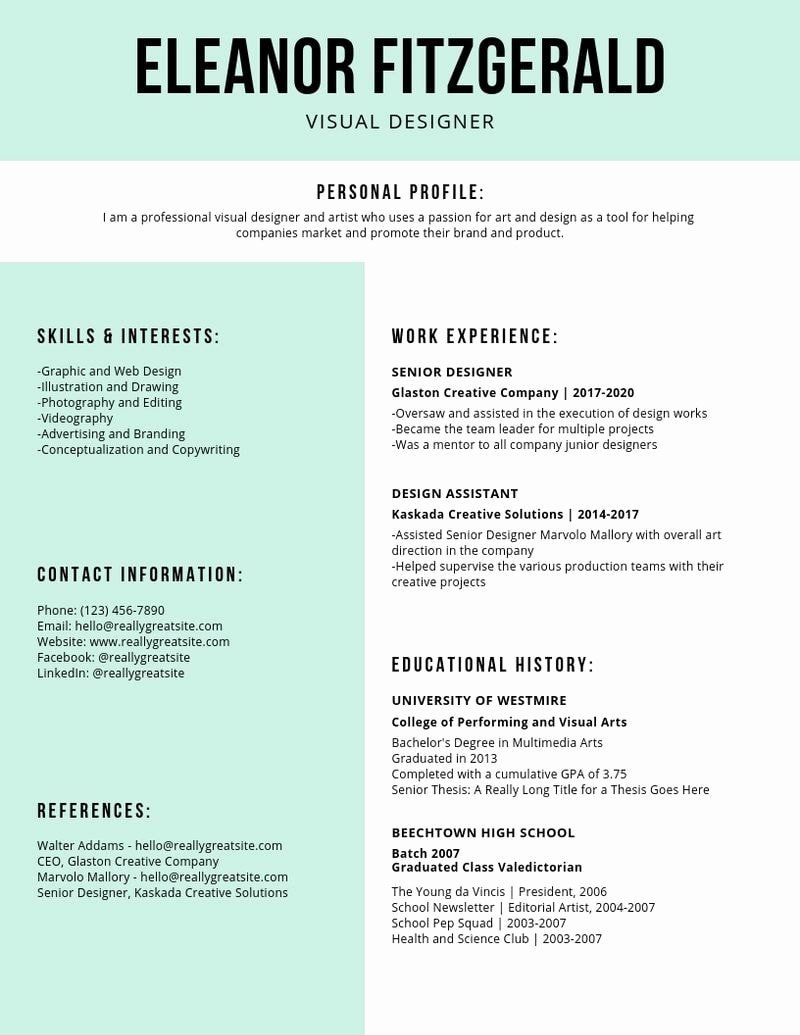 Current Resume Trends 2020 New Emphasize Career Highlights