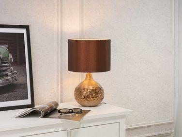 Lampe A Poser Lampe De Salon De Chevet De Burreau Marron