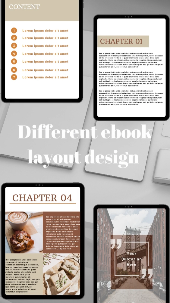Ebook template for professional businesses