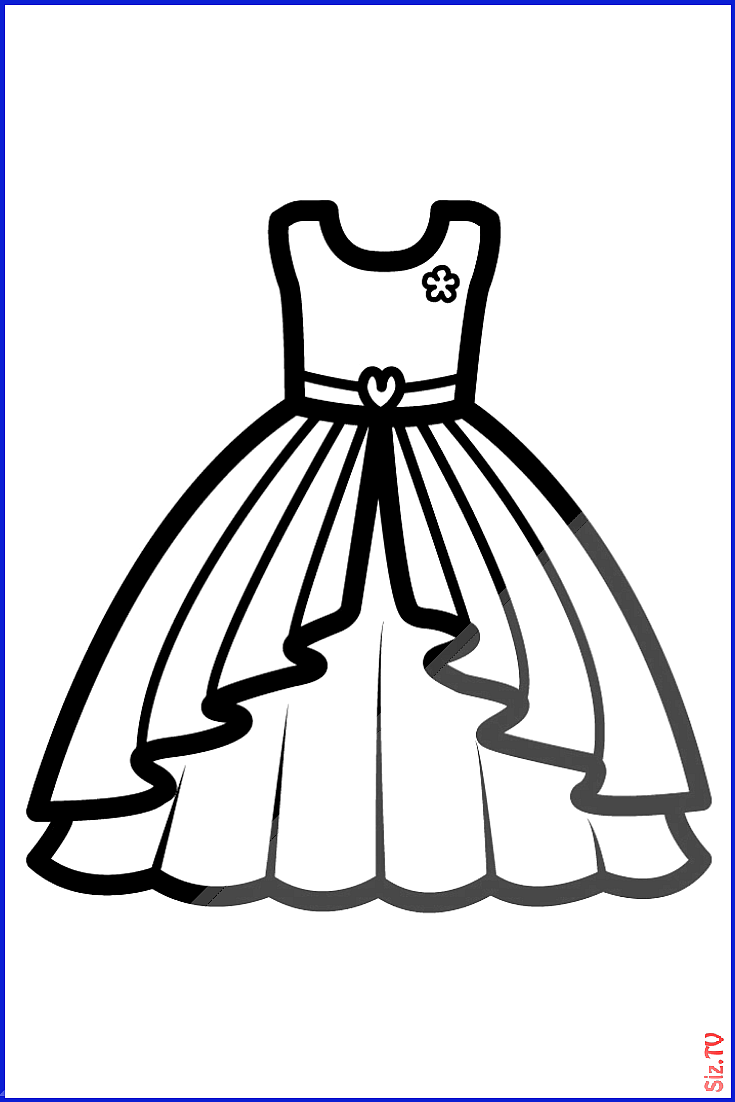 Barbie Dress Coloring Pages For Kids Barbie Dress Drawing Book Dress For Drawing 038 Coloring Malvorlagen Fur Madchen Malvorlagen Fur Kinder Kinder Zeichnen