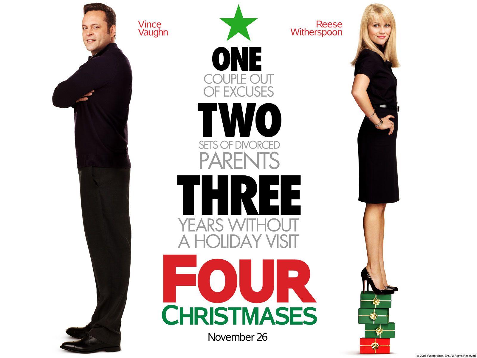 Four Christmases Christmas movies, Christmas movie