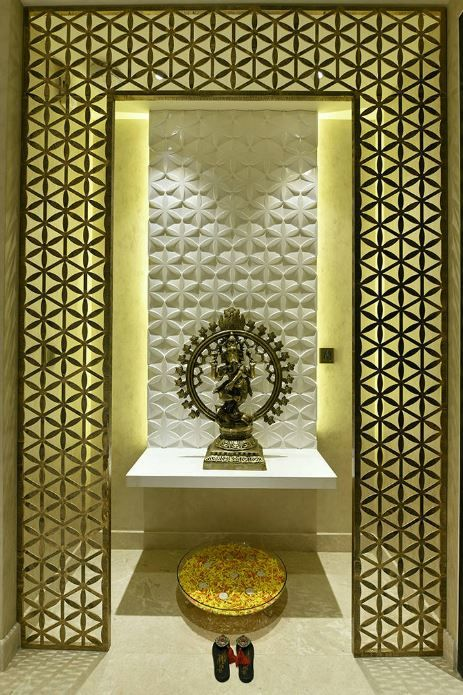 Design of pooja room within  house also and puja rh za pinterest