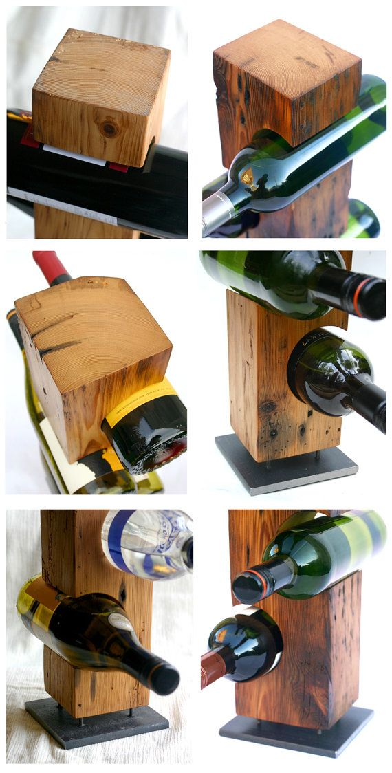 C 1800s Barn Wood Wine Rack Made To Order Quot Smooth Quot Light