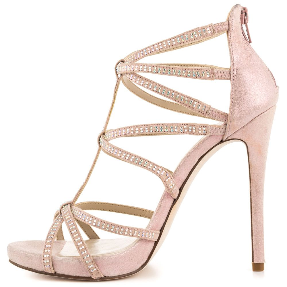 light pink prom shoes