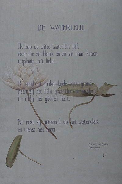 Citaten Schrijven Nederlands : Frederik van eeden de waterlelie quotes gedichten citaten