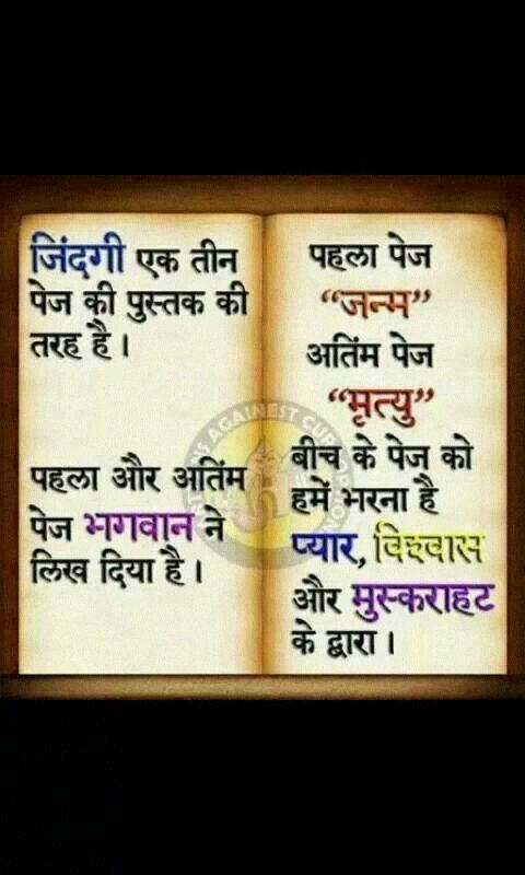 Idea by Hiral Desai on Hindi quote Morning greetings