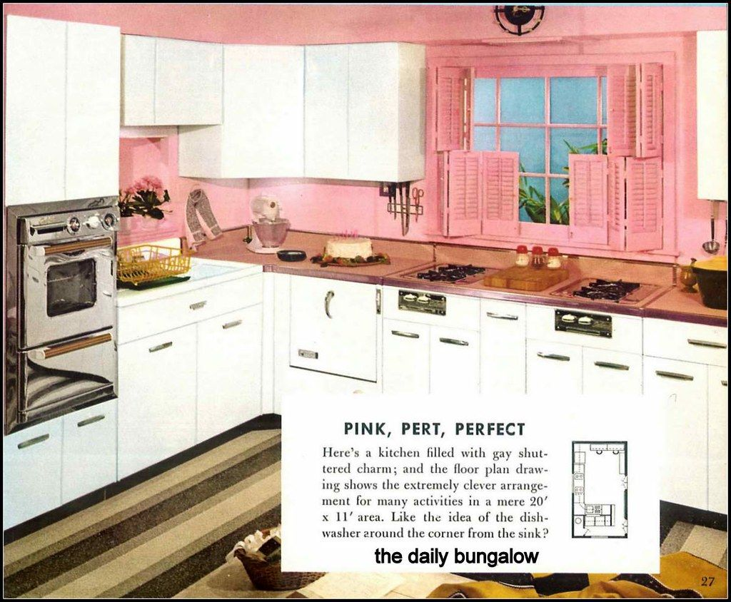 1956 Praise Winning Kitchens Vintage Kitchen Retro Kitchen Vintage House