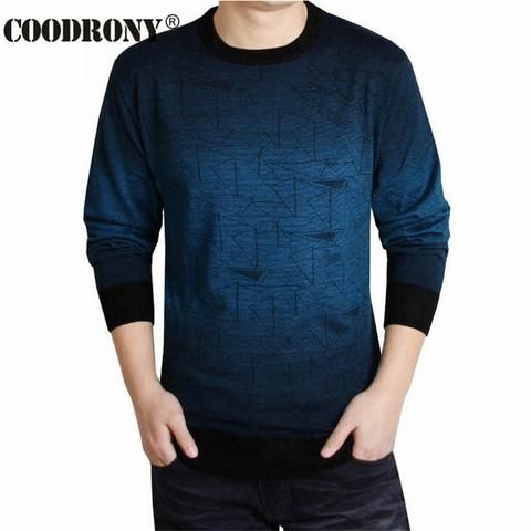 f36941e34 Cashmere Sweater Men Brand Clothing Mens Sweaters Fashion Print Hang ...