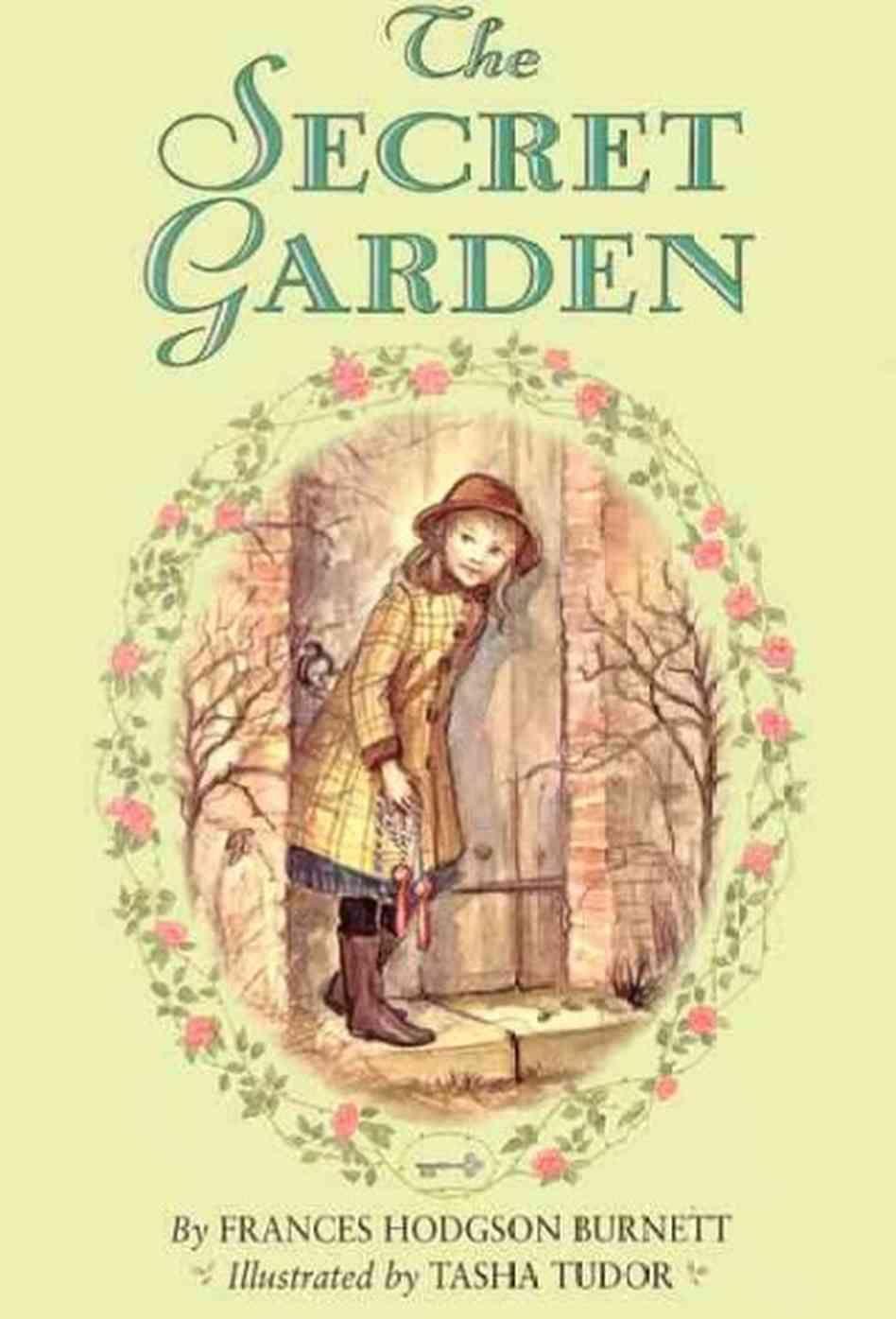 Original Book Cover The Secret Garden Frances Hodgson Burnett Reader Iconic Book Covers