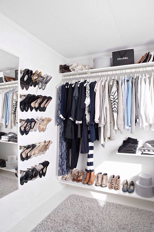 Closet Organizing Ideas The No-Closet Solution | Organize Me ...