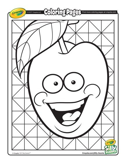 Silly Scents Cherry Coloring Page Crayola Com Crayola Coloring Pages Free Coloring Pages Coloring Pages