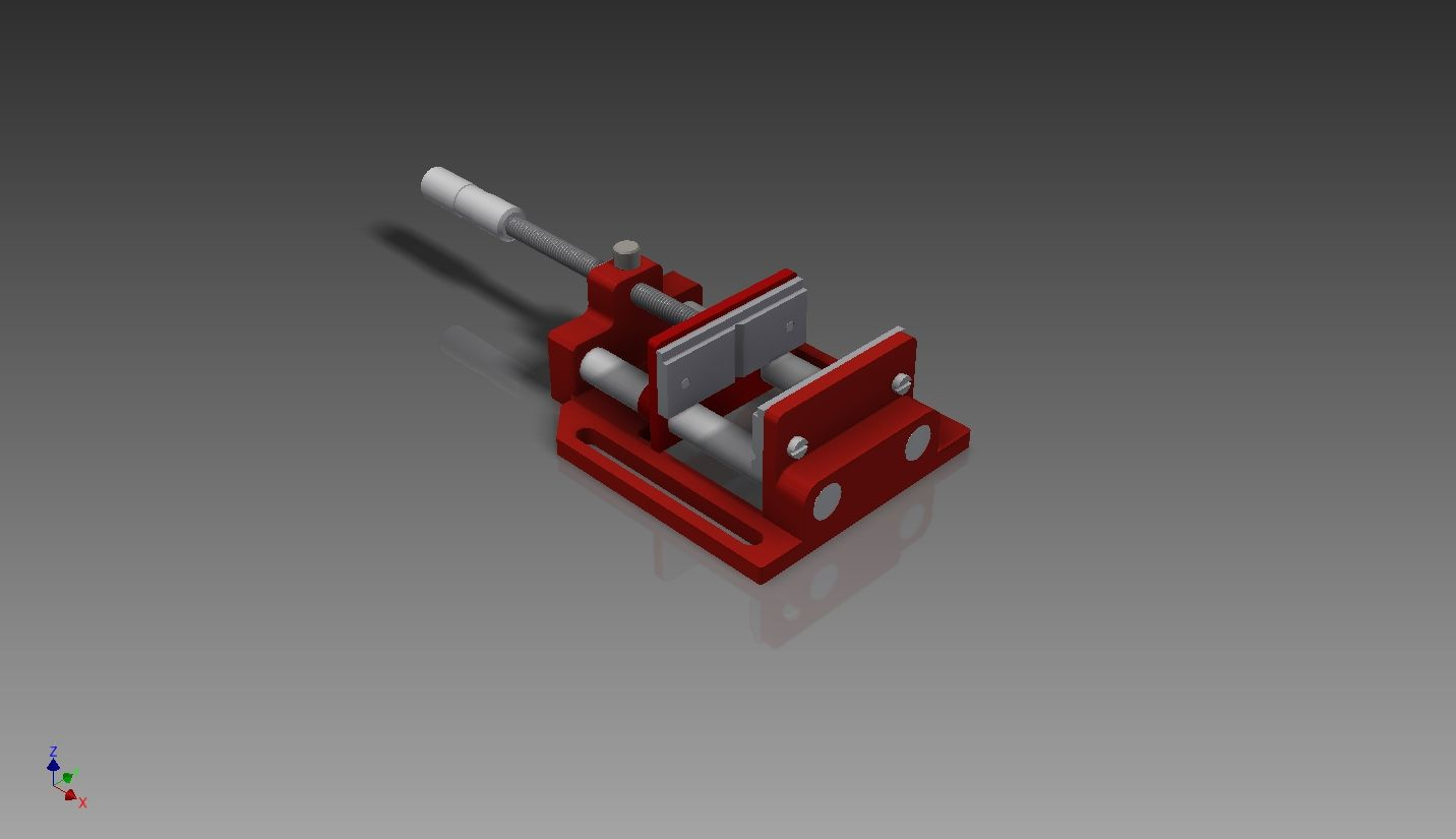 This Project Is The So Far The Best Of My Work All Of The Drawing I Done It By Hand Drawing Them And Later Used The Dimensions Autodesk Inventor Inventor Vise