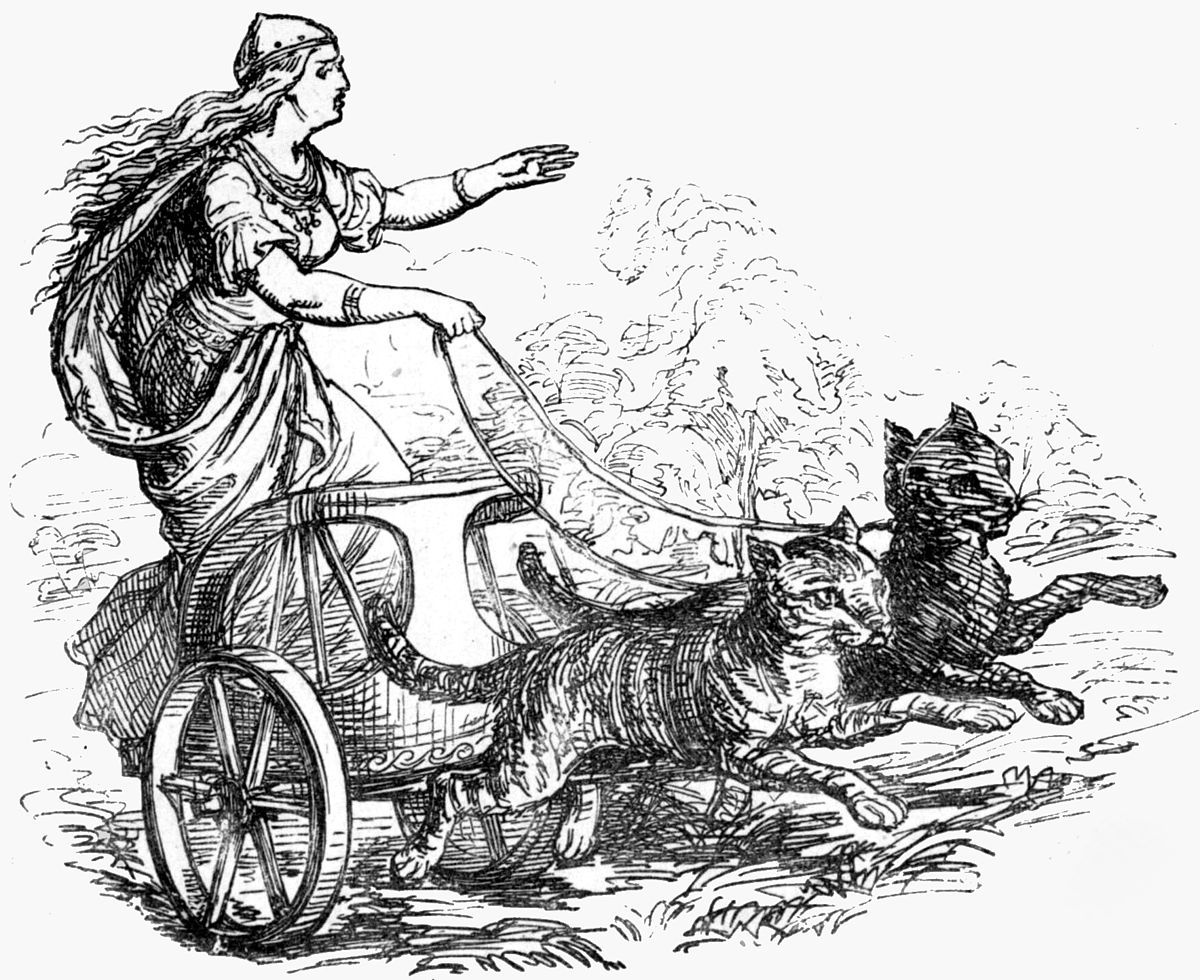 Αποτέλεσμα εικόνας για Freyja