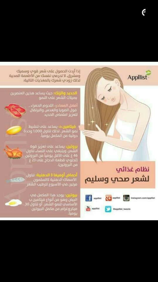 لشعر صحي Health And Beauty Beauty Care Hair Care Recipes