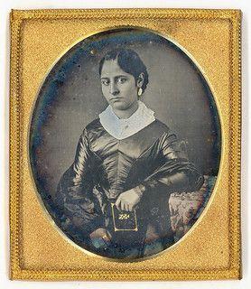 Ethnic Victorian Beauty Daguerreotype