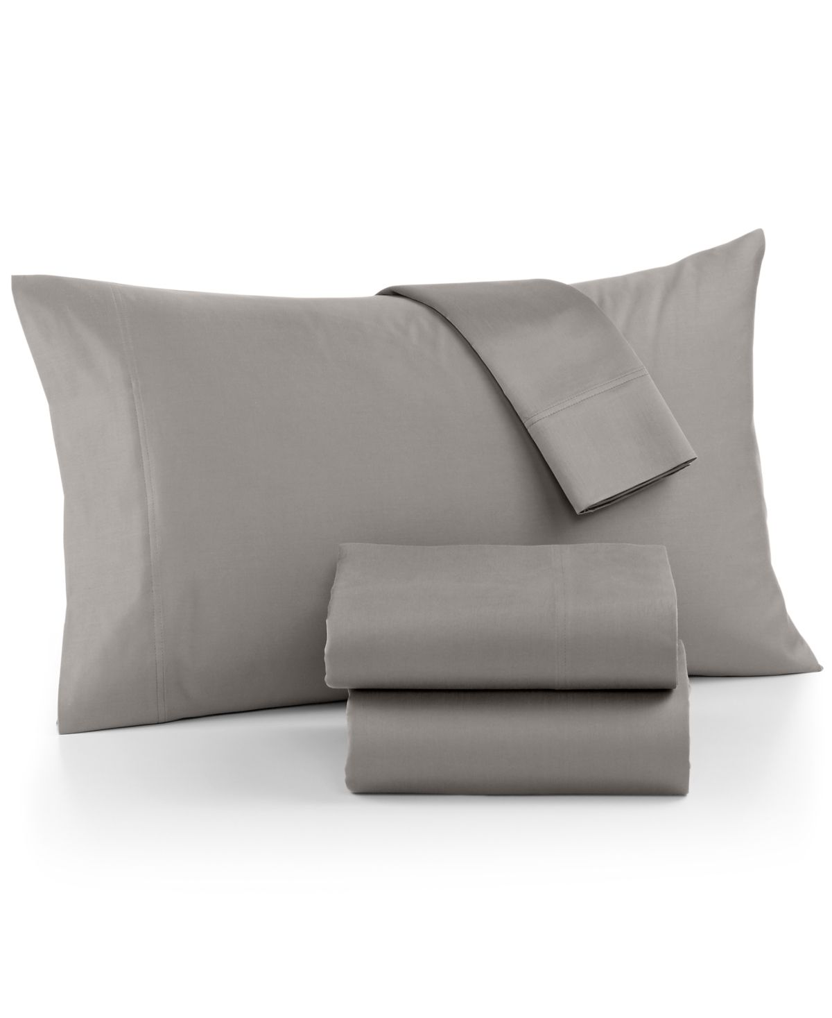 Revive your bedroom decor with the Ultra Cool sheet set from Aq Textiles, featuring a soft sateen finish and a solid ground. Each set includes one flat sheet, one fitted sheet and two pillowcases.