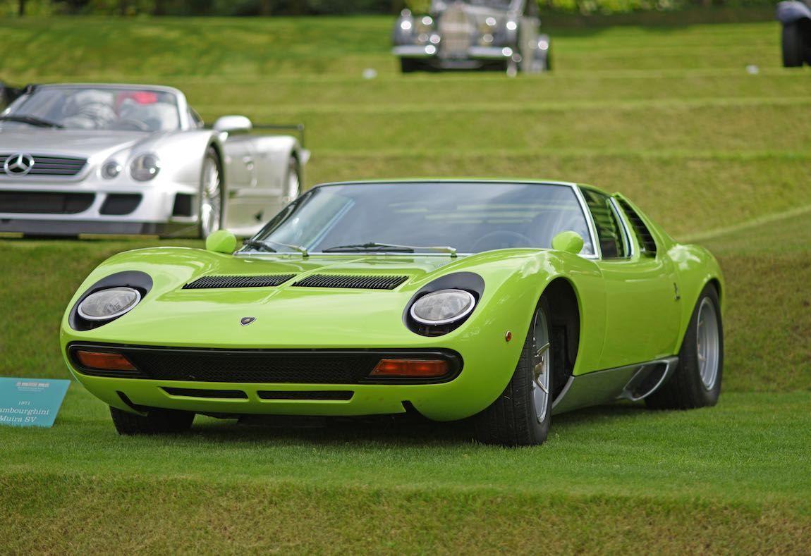 1971 Lamborghini Miura SV at Heveningham Hall Concours d\'Elegence ...