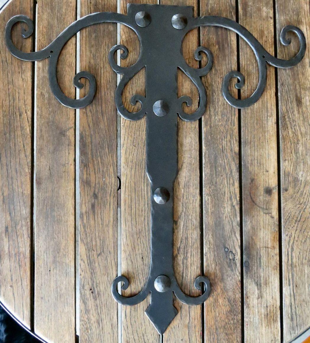 Mid Century Iron Hinge Strap HHS 310 | Hinge Straps | Pinterest | Mid  Century, Iron And Hardware