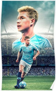 Kevin De Bruyne' Throw Pillow