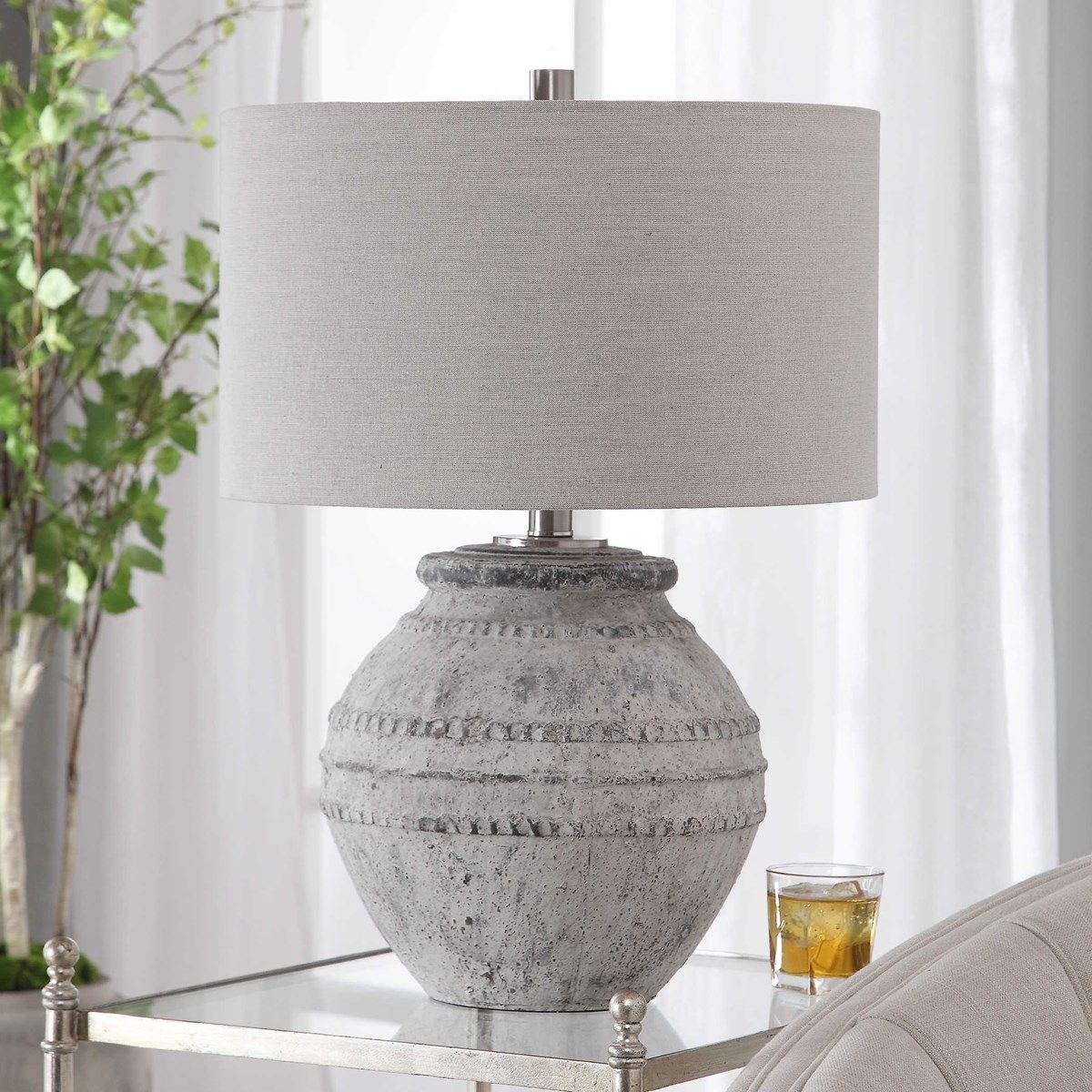 Montsant Table Lamp Uttermost In 2020 Ceramic Table Lamps Table Lamp Table Lamp Design
