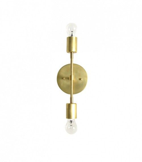 Triple Seven Home Custom Lighting Furniture Wild Sconce Brass