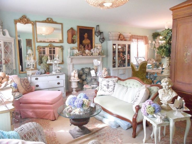 Frenchy U0026 Bright Living Room   Eclectic   Living Room   Richmond   By  Shabby French Cottage