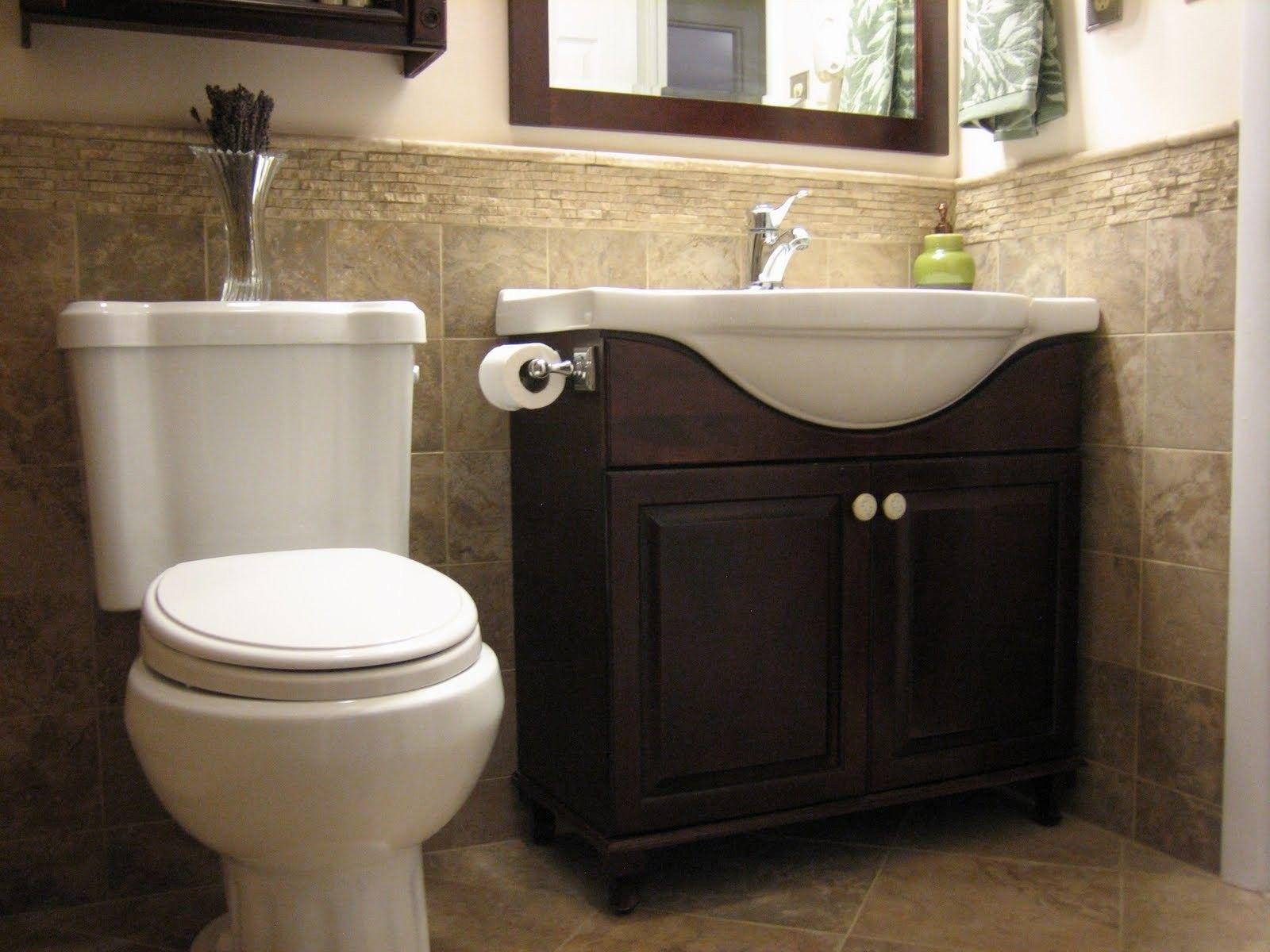 Half Bathroom Ideas 2019 Bath Bathroom Bathroomideas Bathroomdesign Bathroomremodel Small Half Bathrooms Half Bathroom Decor Half Bathroom