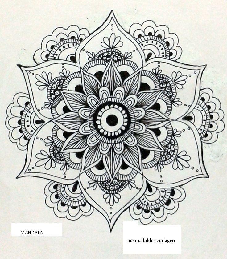 Mandala More Mandala Kunst Mandala Malvorlagen Mandala Zum Ausdrucken