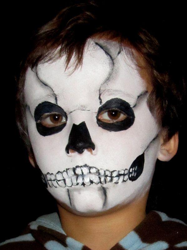Los maquillajes de Halloween más terroríficos El maquillaje - maquillaje de halloween para nios