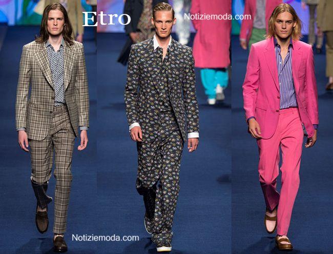 finest selection 1d0b1 bdac7 Abiti Etro primavera estate moda uomo | Abbigliamento Moda ...