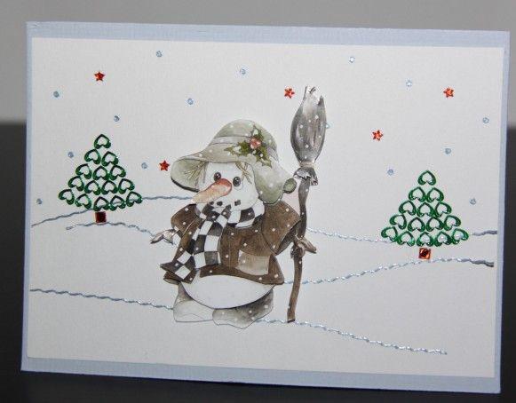 Make your own christmascards, visit wwwhobby4funeu/kerstkaarthtml