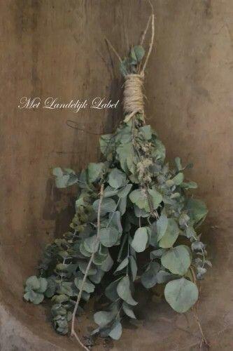 Toef Van Eucalyptus Groene Decoratie Kerst Bloemen Kransen