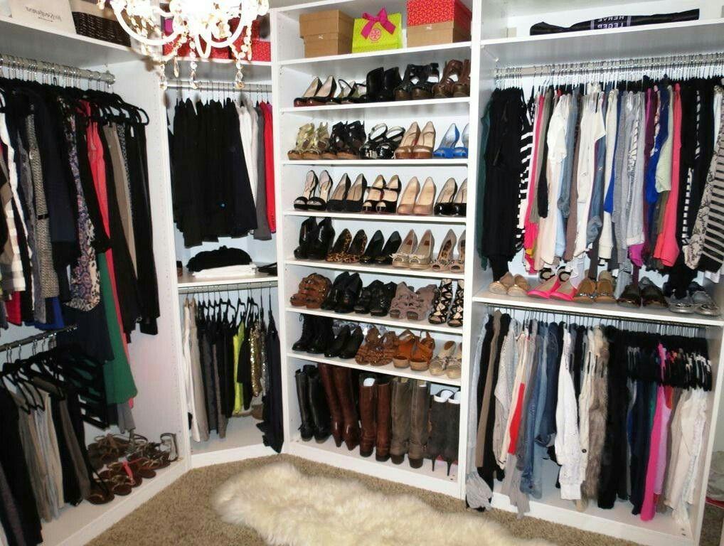 Pin de Jessika Kim en Closet System | Pinterest | Vestidor y Armario
