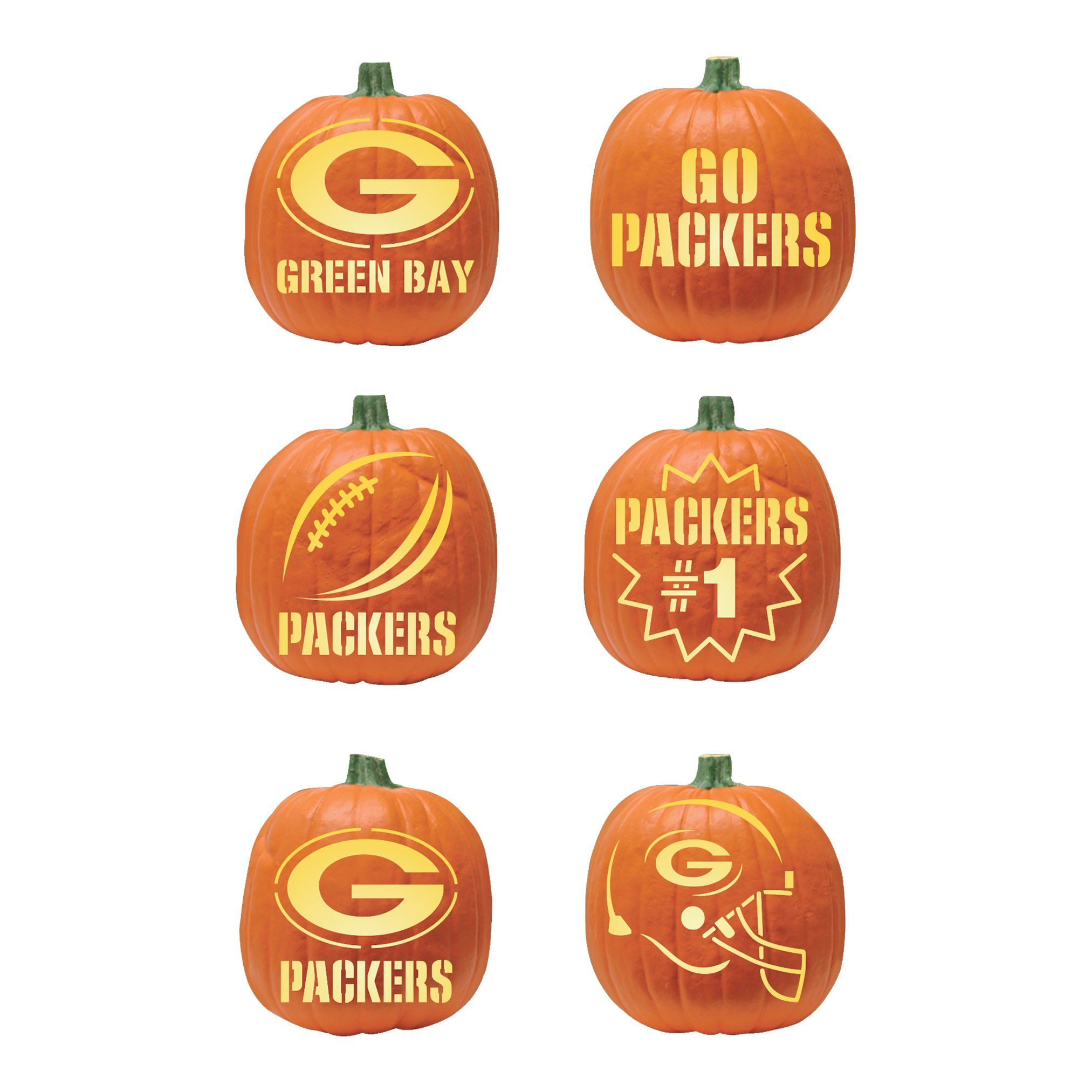 green bay packers pumpkin carving kit | packers | pinterest
