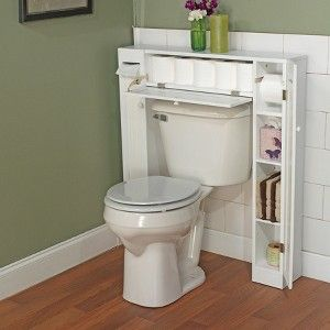 Smart Space Over Toilet Storage Target Need This In Our Spare Bathroom Can T Get To Tar Bathroom Space Saver Over The Toilet Cabinet Small Bathroom Storage