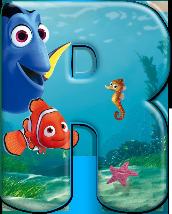 Buscando A Nemo, Abecedario Para