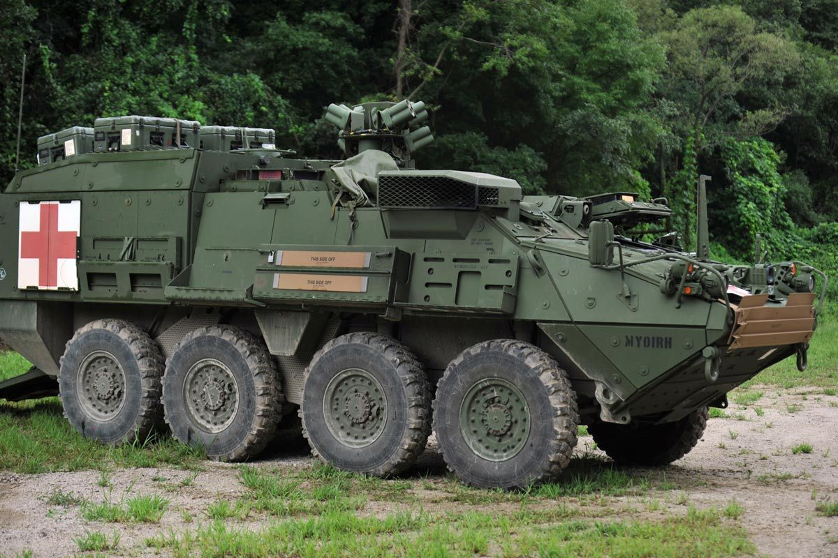 M1126 stryker m1126 stryker combat vehicle