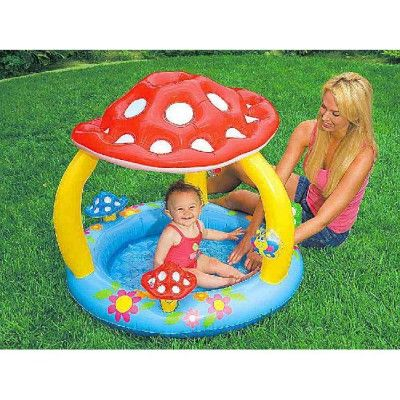 piscine gonflable champignon intex