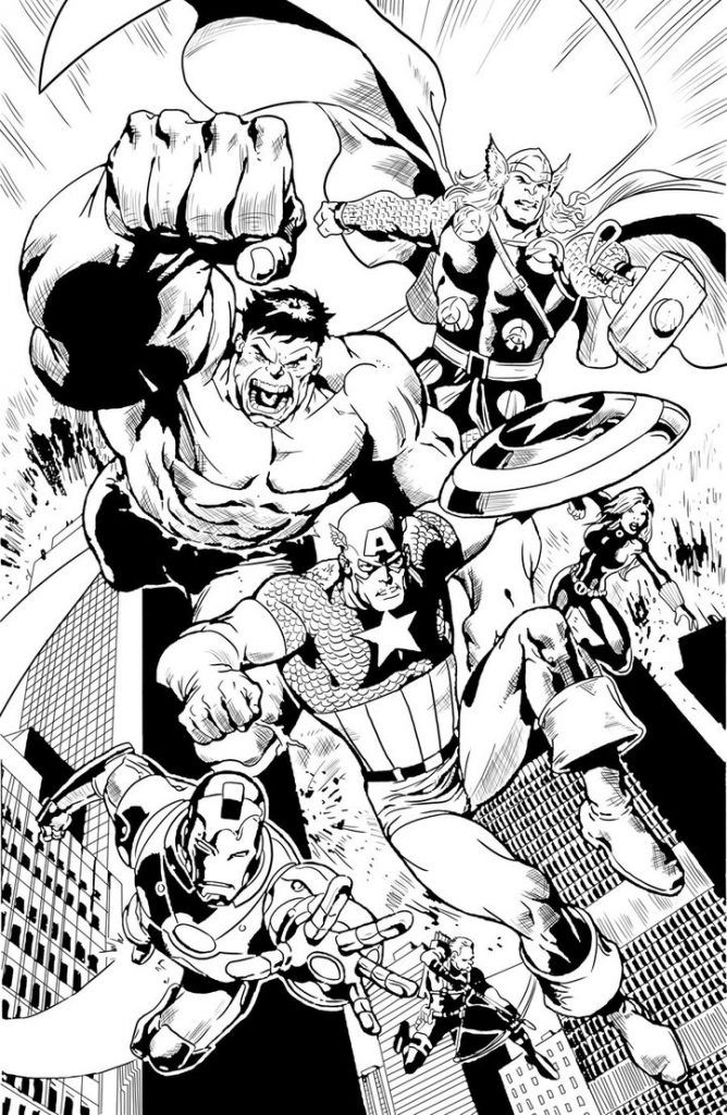 avengers coloring pages | avengers coloring, avengers
